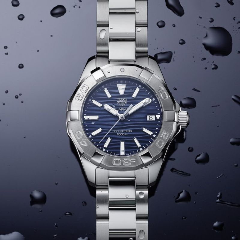 TAG Heuer Aquaracer blue